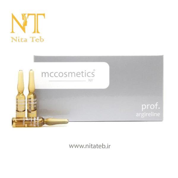 کوکتل آمپول ضد چروک mccosmetics argireline